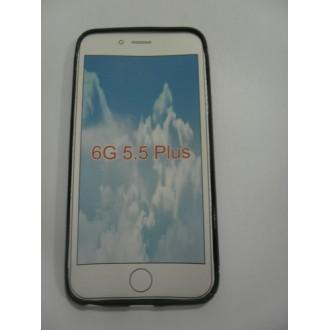 Силиконов калъф за iPhone 6/6S Plus черен