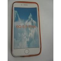 Силиконов калъф за iPhone 6/6S Plus червен