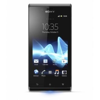 Силиконов калъф за Sony Xperia J/ST26 черен