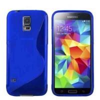 Силиконов калъф за Samsung Galaxy S5  G900 син