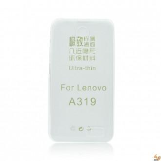 Силиконов калъф за Lenovo A319 0.3мм прозрачен