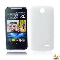 Силиконов калъф за HTC Desire 310 бял