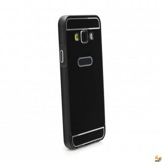 Метален бъмпер с гръб за Samsung Galaxy A5 (2016) Black