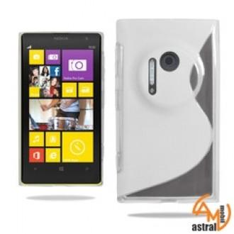 Силиконов калъф за Nokia 1020 прозрачен