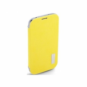 Rock Flip Case Elegant Series for Galaxy S4 жълт
