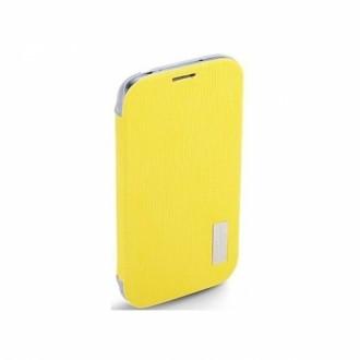 Rock Flip Case Elegant Series for Galaxy S4 жълт