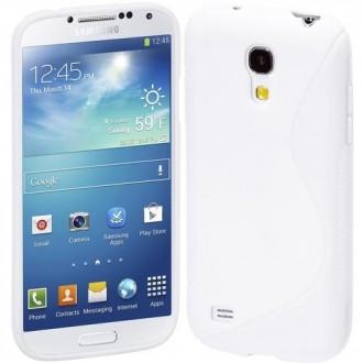 Силиконов калъф за Samsung Galaxy S4 mini i9190 бял