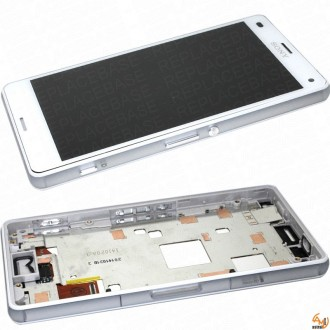 Дисплей за Sony Xperia Z3 compact + Touch Screen бял