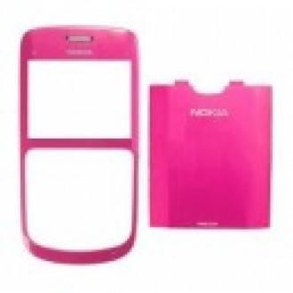 Nokia C3 оригинален панел Pink
