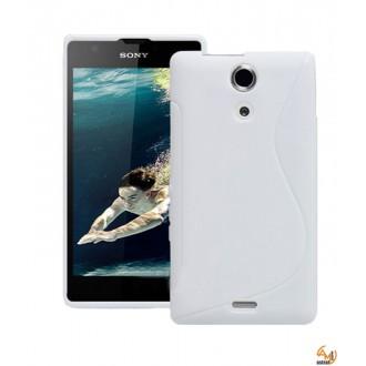 Силиконов калъф за Sony Xperia ZR бял