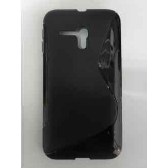 Силиконов калъф за Alcatel OT D5 черен