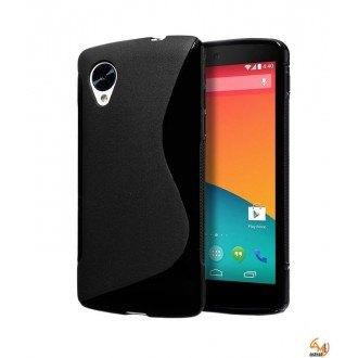 Силиконов калъф за LG Nexus 5 черен