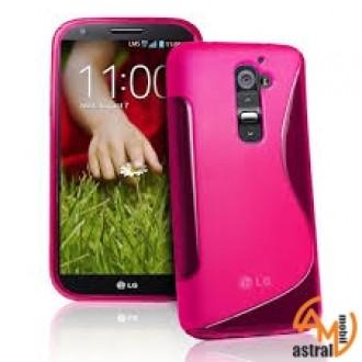 Силиконов калъф за LG G2 mini розов