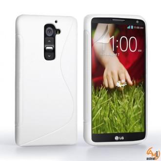 Силиконов калъф за LG G2 mini бял