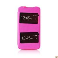 Страничен тефтер S-VIEW за LG G2 mini розов