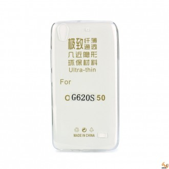 Силиконов калъф за Huawei G620S 0.3mm прозрачен