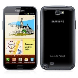 Samsung Case Cover+ for Galaxy Note 2 black