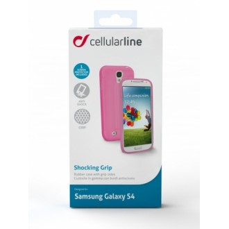 Shocking Grip за Samsung Galaxy S4 розов Cellular line