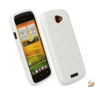 Силиконов калъф за HTC One/M7 бял
