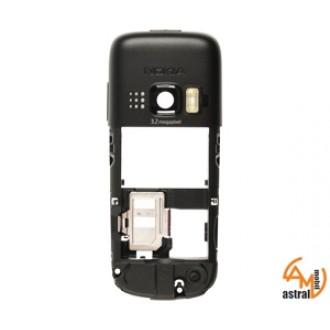 Оригинална средна част Nokia 6303c черна