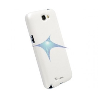 Krusell ColorCover Faceplate for Note 2 metallic white