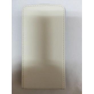 Калъф тип тефтер за LG L9 бял