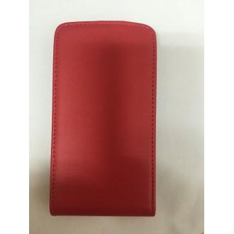 Калъф тип тефтер за Sony Xperia E червен