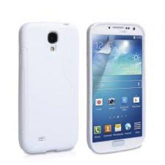 Силиконов калъф за Samsung Galaxy S4  i9500 бял