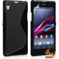 Силиконов калъф за Sony Xperia Z1 черен