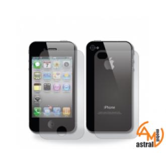 Протектор за дисплея за iPhone 4/4S преден и заден