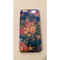 Силиконов калъф за iPhone 6/6S 0.3мм Цветя