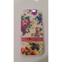 Силиконов калъф за iPhone 6/6S 0.3мм Цветя 2