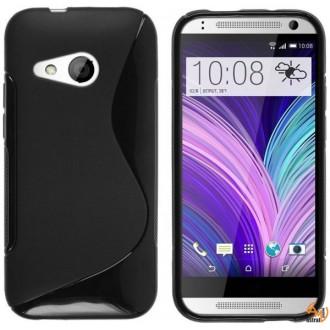 Силиконов калъф за HTC One Mini 2 черен