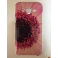 Твърд гръб за Samsung J5 с цвете