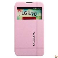 Страничен тефтер за LG L70 розов KLD Iceland