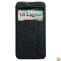 Страничен тефтер за LG L90 черен KLD Iceland
