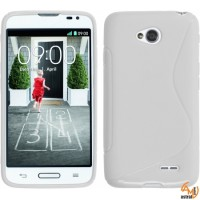 Силиконов калъф за LG L90 бял