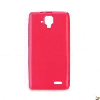 Силиконов калъф за Samsung Galaxy J5 0.3мм розов