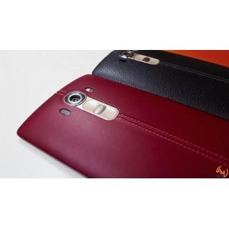 Заден капак за LG G4 естествена кожа