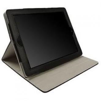 Кожен калъф за iPad 2&3 Krusell Luna черен