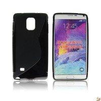 Силиконов калъф за Samsung N910 Galaxy Note4 черен