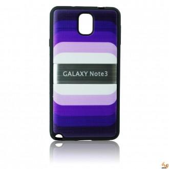 Силиконов за Samsung Galaxy Note 3 N9005 ART лилав