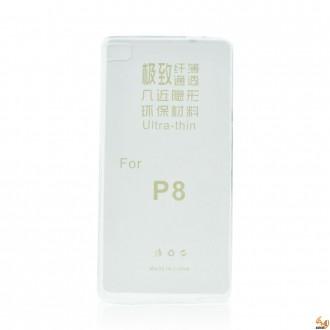 Силиконов калъф за Huawei P8 0.3mm прозрачен