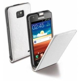 Flap Essential за Samsung Galaxy S2 9100 бял Cellular Line