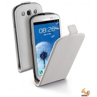 Flap Essential за Samsung Galaxy S3 9300/S3 Neo бял Cellular line