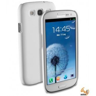 Fit за Samsung Galaxy S3 I9300 бял Cellular line