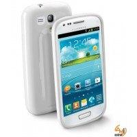 Shocking за Samsung Galaxy I8190 S3 mini бял Cellular line