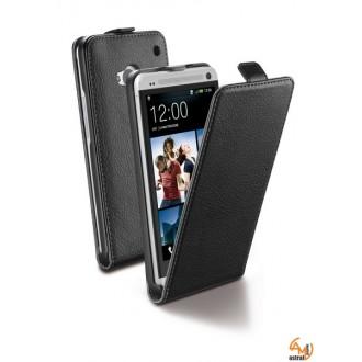 Калъф за HTC ONE /M7/ Flap Essential черен Cellular line
