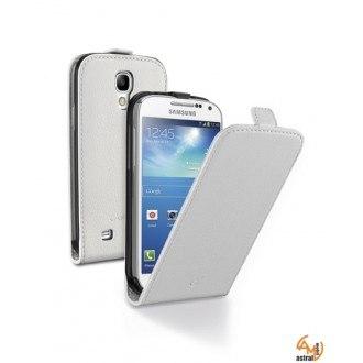 Flap Essential за Samsung Galaxy S4 mini I9190 бял Cellular line