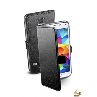 Book Essential Samsung Galaxy S5/S5 Neo черен Cellular line
